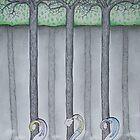 Three Trees by Megan Stone