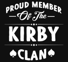 Proud member of the Kirby clan! by keepingcalm