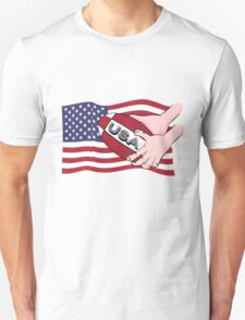 Rugby USA Flag Unisex T-Shirt