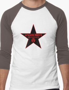 Anarchist and Proud of It Men's Baseball ¾ T-Shirt