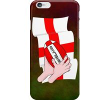 Rugby England Flag iPhone Case/Skin