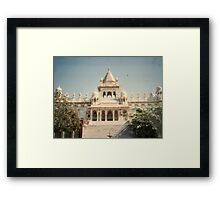 Jaswant Thada Cenotaph Complex Framed Print