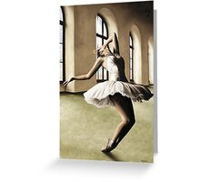 Halcyon Ballerina Greeting Card
