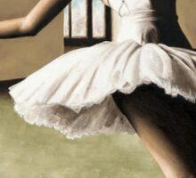 Halcyon Ballerina Sticker