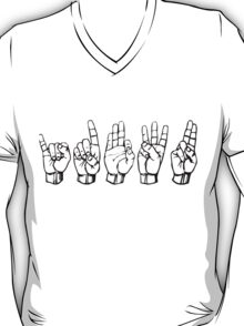 IDFWU Sign Language T-Shirt