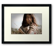 Prairie Girl Framed Print