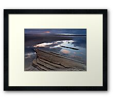 Sky Rock Framed Print