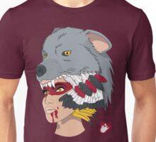 Native American Wolf Headdress Unisex T-Shirt