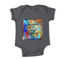 Colorful Crayon Box  One Piece - Short Sleeve