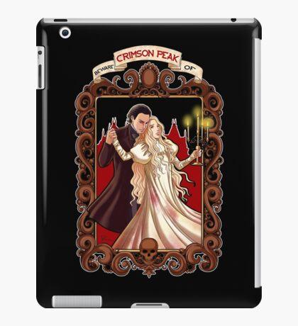 Beware of Crimsom Peak iPad Case/Skin