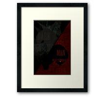 BatDevil Framed Print