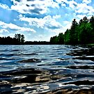 NH Landscape - Town Beach by Edward Myers