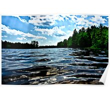 NH Landscape - Town Beach Poster