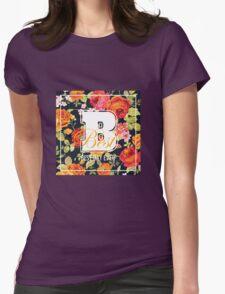 Shabby Chic Flowers Graphic Design T-Shirt