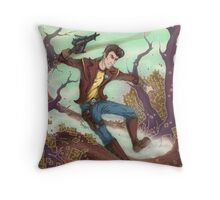 Timothy Lawrence - The Doppelganger! Throw Pillow