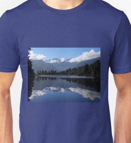 Lake Matheson, New Zealand Unisex T-Shirt