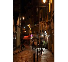 evening in the Latin Quarter Photographic Print