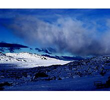 "photoj Tas, Ben Lomond-""Snowy Mountain"" Photographic Print"
