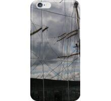 Tall- ship reflection iPhone Case/Skin