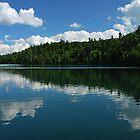 Pink Lake ~ Midday Reflections by Joanne  Bradley