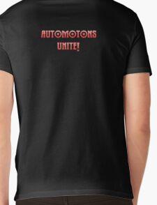 automatons unite! Mens V-Neck T-Shirt
