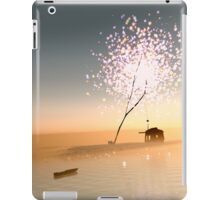 Barn on a magical island. iPad Case/Skin