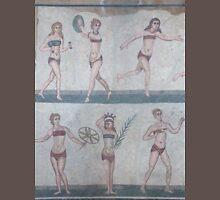 Bikini Girls Mosaic - Villa Romana del Casale Unisex T-Shirt
