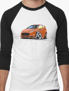 Ford Fiesta (Mk7) ST Orange [NoPlate] Men's Baseball ¾ T-Shirt