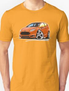 Ford Fiesta (Mk7) ST Orange [NoPlate] T-Shirt