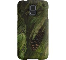 High Key Christmas Greenery With Giant Sugar Pine Cones Samsung Galaxy Case/Skin
