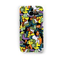 Monsters doodle  Samsung Galaxy Case/Skin