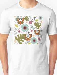 Tigers in the Jungle Unisex T-Shirt