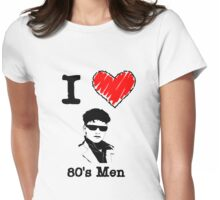 I Love 80's Men Womens Fitted T-Shirt
