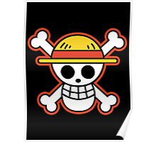 Straw Hat Pirates Logo Poster