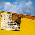Shady Billboard on Yellow Wall by PhilMi