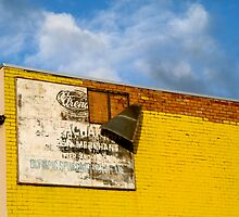 Shady Billboard on Yellow Wall by PhilMi
