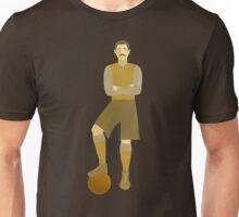 Vintage Football or Soccer Player Unisex T-Shirt