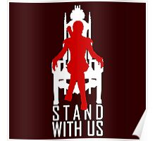 Stand with us Poster