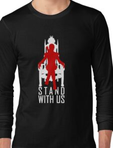 Stand with us Long Sleeve T-Shirt