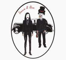Gangsters - Connie & Clive  Tshirt by judygal