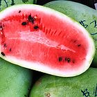 Farmer's Market Watermelon by BabyBundtCake