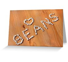 Cannellini Beans Greeting Card