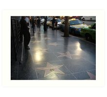 Walk of Fame Art Print
