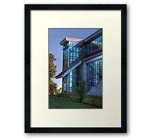Abram Nesbitt III Academic Commons Framed Print