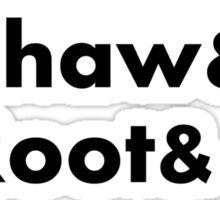 Finch&Reese&Shaw&Root&Fusco&Bear Sticker