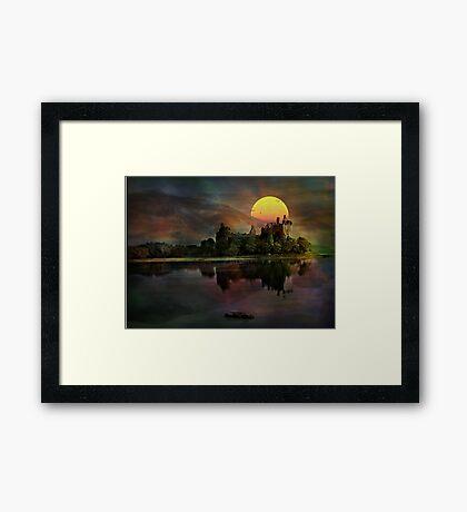 Kilchurn Castle .... Framed Print
