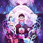 The Crystal Gems - Steven Universe by mmishee-art
