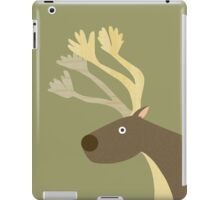 Startled Reindeer iPad Case/Skin