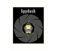 Spyduck Art Print
