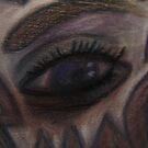 Conte Eye, Nonrepresentational by C Rodriguez